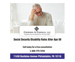 Social Security Disability Rules After Age 50
