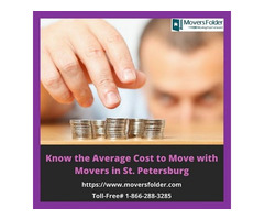 Know the Average Cost to Move with Movers in St. Petersburg