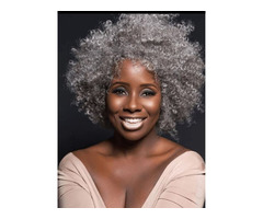 Curly Women Snythetic Hair Capless Wigs 12 Inches