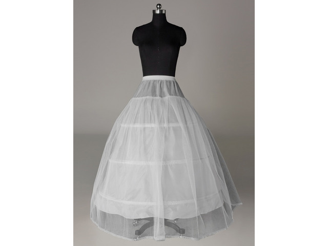 Cheap Three Steel Loops Supports Ball Gown Wedding Petticoat | free-classifieds-usa.com