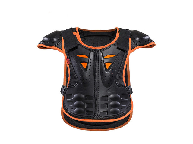 HEROBIKER Motocross Motorcycle Child Skiing Skating Spine Shoulder Chest Guard Mesh Cloth Kids Armor | free-classifieds-usa.com