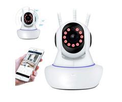 1080P 360° Panoramic Wireless Wifi Security IP Camera Monitor Night Vision CCTV