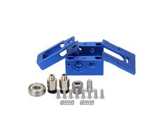 Blue DIY Reprap Bulldog All-metal 1.75mm Extruder Compatible J-head MK8 Extruder Remote Proximity Fo