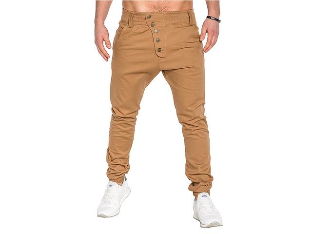 Men's Fashion Button Stitching Trousers | free-classifieds-usa.com
