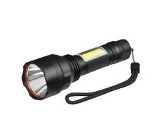 XANES C8-COB T6+COB 1000Lumens 4Modes Brightness Tactical LED Flashlight