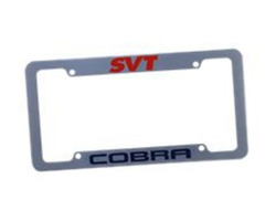 Get License Plate Frames with Custom Text Black