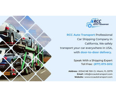 Reliable Car Transport Service by RCC Auto Transport
