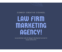 Law Firm Marketing Agency in California|Conroy Creative Counsel