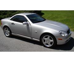 1999 Mercedes-Benz SLK-Class SLK230 2000$