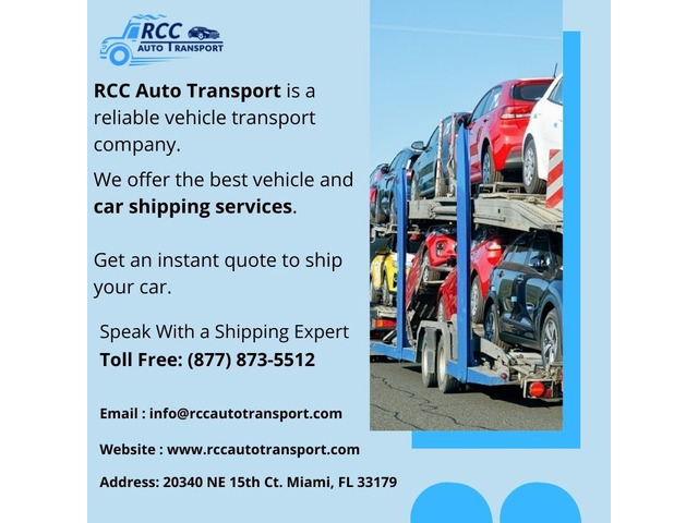 RCC Auto Transport - Top Rated Car Shipping Service Provider in USA | free-classifieds-usa.com