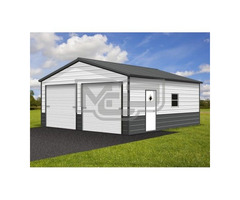 Buy The Best Metal Garages | Carports & Garages