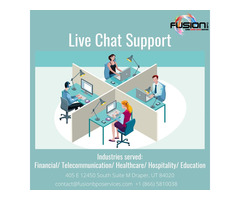 Live Chat Support - Fusion BPO Services