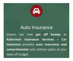 Full line of insurance packages at affordable rate - Ackerman Insurance Services Naples