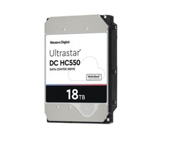 Western Digital WUH721818AL5204 DC HC550 18Tb SAS Ultra 512e 7200RPM 512Mb 3.5 Inch Hard Drive