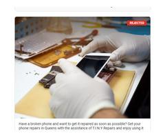 iPhone repair in Queens under 90 minutes.