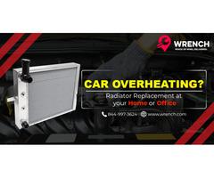 Radiator Repair Los Angeles CA -  Wrench