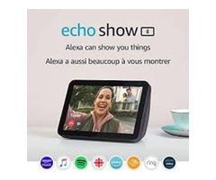 "Introducing Echo Show 8 – HD 8"" smart display with Alexa – Charcoal"
