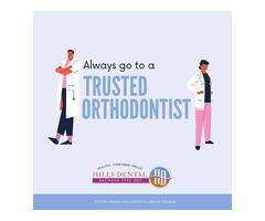 Always go to a trusted, family Orthodontist!