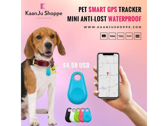 Pet Smart GPS Tracker Mini Anti-lost Waterproof - Kaanjushoppe.com   free-classifieds-usa.com