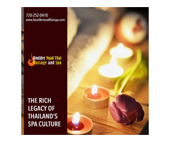 The rich legacy of Thailand's spa culture