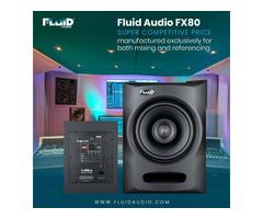 The Fluid Audio - FX 80 Speakers