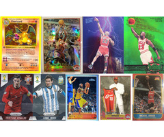 BUYING POKEMON, BASKETBALL/NBA AND SOCCER CARDS COLLECTIONS