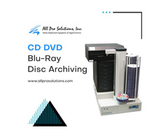 Automated CD DVD Blu-Ray Disc Archiving