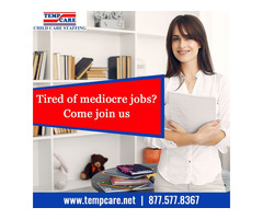 Tired of mediocre jobs?