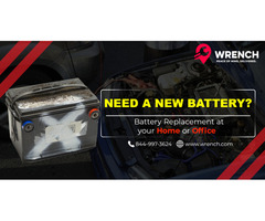 Battery Replacement in Atlanta GA at Wrench