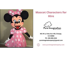 Mascot Parties | Costumed Mascot Characters For Hire