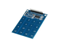 XD-62B TTP229 16 Channel Capactive Touch Switch Digital Sensor IC Module Board Plate For Arduino