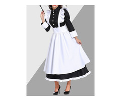Western Long Sleeve Bowknot Polyester Classic Halloween Womens Costumes