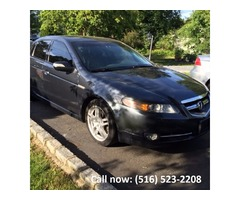 2007 Acura TL hi tech package navigation backup camera