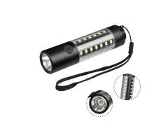 XANES 3509-A T6+28*COB 1000Lumens 6Modes USB Rechargeable Brightness LED Flashlight
