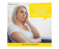 What is the One-Stop Destination for Hormone Replacement Therapy for Women?