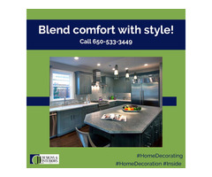 Blend comfort with style!