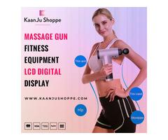 Buy Massage Gun Fitness Equipment LCD Digital Display