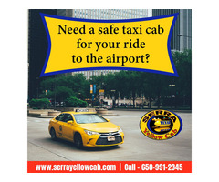 Need a safe taxi cab for your ride to the airport?