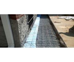Sidewalk concrete contractors in NY