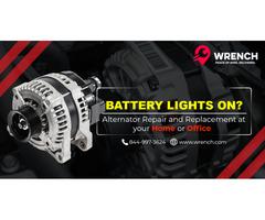Get alternator repair in Jacksonville, FL At Wrench