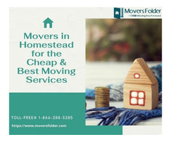 Movers in Homestead for the Cheap & Best Moving Services
