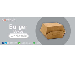 Make your Occasions more Special without Burger Boxes