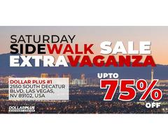 Saturday Sidewalk Sale | Extra Vaganza | Upto 75% OFF