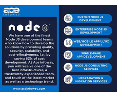 Node JS Development Services   Ace Infoway