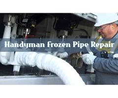 Best Handyman Frozen Pipe Repair in Provo