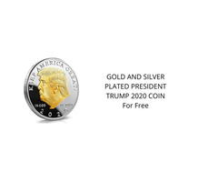 President Trump coins for free