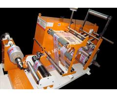 Inspection Doctoring Slitting Machine | Winder Rewinder Machine