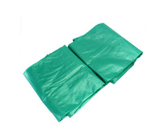 PE 5.4×7.3m/17.7×24ft Outdoor Waterproof Camping Tarpaulin Field Camp Tent Cover Car Cover Canopy