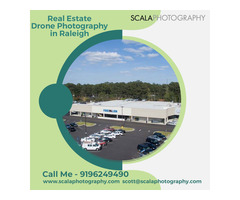 Get professional real estate drone photography in Raleigh