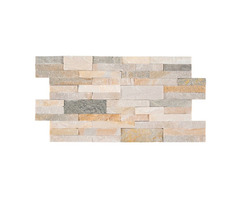 Shop For Online Golden Honey Peel and Stick Stacked Stone